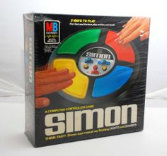VINTAGE 1978 NOS SEALED MILTON BRADLEY SIMON GAME TOY NEW OLD STOCK IN PLASTIC. Sold for $299 on eBay Jan 2014 www.SnapPost.com
