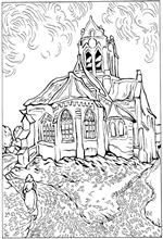 Van Gogh Coloring Pages