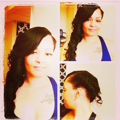 Another @kk_stylez creation! Flawless #indianremy styled by her!! Shop online @ www.wagmanhair.com!