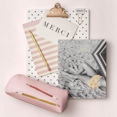 kate spade new york stationery and desk accessories Kate Spade Stationery, Online Gifts, Boss Babe, Thank You Cards, Catalog, Dots, Fall, Handmade, Stuff To Buy