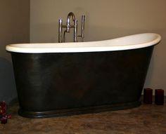 free standing slipper bathtubs | bath bathe bathtub Slipper bathtub