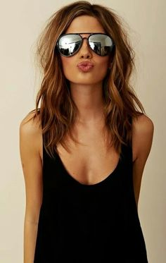 Searching for Sexy Long Bob Hairstyles? There are a plenty of variety of long bob hairstyles are available to style. Here we present a collection of 23 Amazing Long Bob Hairstyles and haircuts for you. Hair Inspo, Hair Inspiration, Creative Inspiration, Creative Ideas, New Hair, Your Hair, Hair Dos, Pretty Hairstyles, Medium Hairstyles