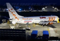 The 100th Boeing 737 Next Generation for Lion Air! This is a Boeing 737-900ER! Congrats to Lion Air and Boeing! Very nice looking livery! ✈   i hope the service better in the future. NO MORE DELAY