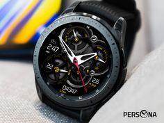 Samsung Gear S, Gear S3 Frontier, Open App, Face Design, Watch Faces, Smartwatch, Persona, Gears, Technology