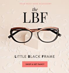 Get chic eyeglasses frames for the Holidays!