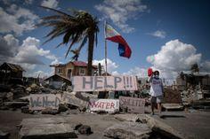 Ik vind dit ook een belangrijke gebeurtenis omdat een deel van mijn eigen land verwoest is door een tyfoon. Ik vind het zo erg dat er veel Filipino's gestorven zijn door deze natuurramp.