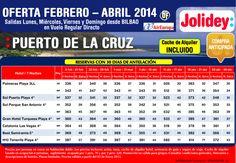 Oferta Febrero - Abril Pto de la Cruz 2 noches desde 336€ tax incl. Salidas desde Bio con UX ultimo minuto - http://zocotours.com/oferta-febrero-abril-pto-de-la-cruz-2-noches-desde-336e-tax-incl-salidas-desde-bio-con-ux-ultimo-minuto/