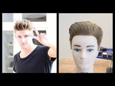 Slikhaar TV Emil Pompadour Haircut Tutorial - TheSalonGuy - YouTube