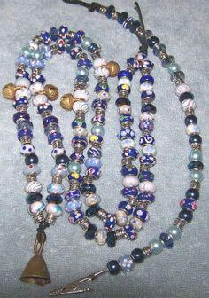 Horse Beads  Rhythm Beads  Horse Beaded Necklace by ShymaliLlamas, $15.00