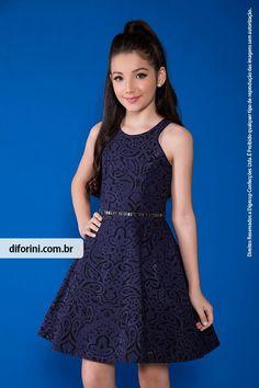 Vestido Infantil Diforini Moda Infanto Juvenil 010840