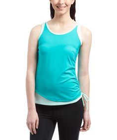 Emerald Scoop Neck Tank - Plus Too