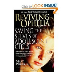 A must read for parents of teen girls who are engaging in risky or self-harming behavior.