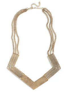 Striking Statement Necklace, #ModCloth  $19.99