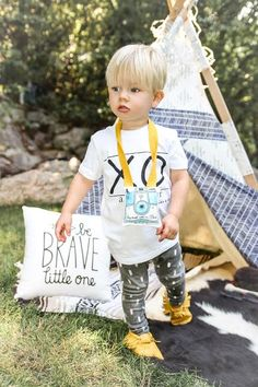 The perfect fall outfit for a little boy