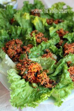 Surfing the world cuisine: Spicy kisir salad / Aštrios kisir salotos