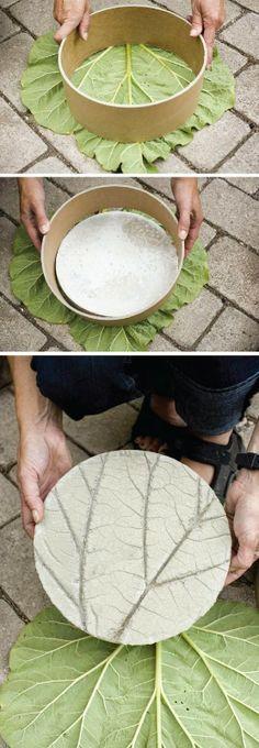 ideas yard art diy garden projects stepping stones for - Modern Garden Crafts, Garden Projects, Diy Projects, Garden Kids, House Projects, Family Garden, Diy Crafts, Garden Steps, Garden Paths