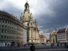 Dresden goes Disneyland  /  The Church of Our Lady, or Frauenkirche, in Dresden
