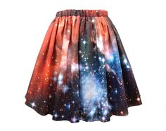 Crimson Galaxy Starcluster Skirt. With a white tank plz