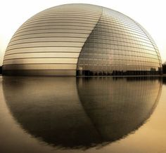 Famous Buildings In The World With Unconventional Architecture The Opera House - ChinaThe Opera House - China Unusual Buildings, Famous Buildings, Amazing Buildings, Modern Buildings, Futuristic Architecture, Beautiful Architecture, Contemporary Architecture, Art And Architecture, Architecture Interiors