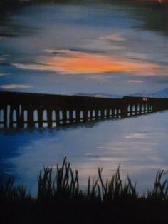 Gorgeous moody looking Tay Bridge image.