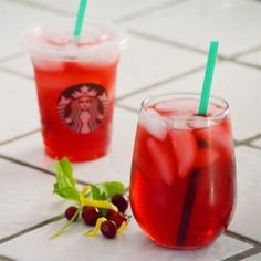 Starbucks Iced Passion Tea.  Save yourself some money and make your own tea at home this summer.