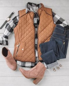 Ace Flannel - It's a Girl Neo Grunge, Style Grunge, Soft Grunge, Looks Chic, Looks Style, My Style, Vest Outfits, Casual Outfits, Cute Outfits