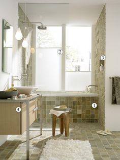 Современная ванная с древнеримским акцентом: 10 ремарок дизайнера
