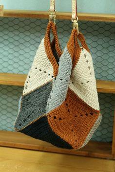 Crochet Case, Knit Or Crochet, Crochet Crafts, Crochet Projects, Crochet Handbags, Crochet Purses, Yarn Bag, Knitted Bags, Crochet Blanket Patterns