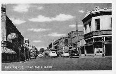"Idaho Falls 30's or 40's I love the big ""CIGARS"" sign.  :]"