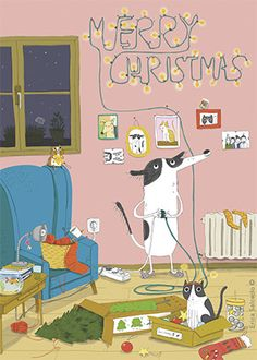 Christmas Theme - Erica Salcedo Illustration potfolio