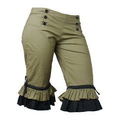"""5 & Diamond Bloomers - sizes to 46"""" hips! Probably couldn't pull this off...but sure like them!"""