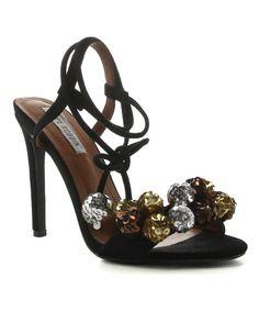 Black Ankle-Strap Alza Sandal