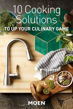 Need some tips to save time in the kitchen? Try our Sarai faucet with Power Boost to make cleaning quick and easy. Cooking 101, Cooking Hacks, Money Making Machine, Food Hacks, Food Tips, Baking Items, Chicken And Dumplings, Kitchen Hacks, Food Preparation