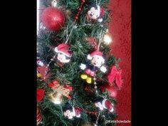 Mickey enfeite de natal ( COM MOLDE) Katia Soledade PARTE 2