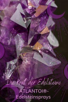 Der wunderbare violette Amethyst hilft bei der Wahrheitsfindung und steigert Konzentration und Inspiration. #Amethyst#Edelsteinspray#Energiespray#Auraspray#Inspiration#Vision#Konzentration#Magie