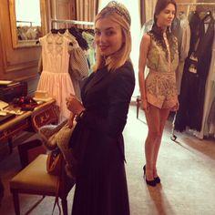 "Nasiba Adilova's Spring 2014 Paris Fashion Week Diary - Day Four ""The Natasha Zinko Showroom"""