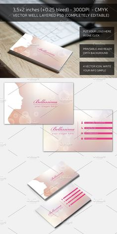 20 free printable templates for business cards business cards blurred fashion business card reheart Gallery