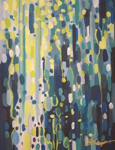 Erin Copper, Voyeur - Abstract Painting