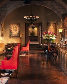 Don't miss an energizing coca tea or pisco sour in the intimate lobby lounge. Machu Picchu Tours, Pisco Sour, Lobby Lounge, Galapagos Islands, Coca Tea, Places, Cusco Peru, South America, Travel