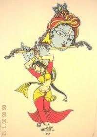 తృష్ణ...: June 2011 Krishna Painting, Krishna Art, Krishna Statue, Radhe Krishna, Lord Krishna, Cool Art Drawings, Art Drawings Sketches, Animal Drawings, Art Forms Of India
