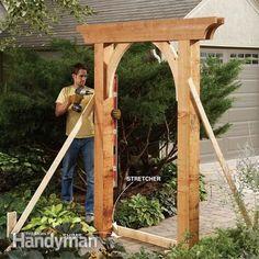 Build a Garden Arch #stopmakingexcuses #pintowin #blackanddecker