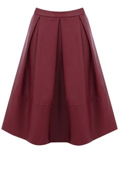 Midi skirts are a key look this season, and nothing creates more of a statement than our faux leather midi.  Its all about the small details, and our exposed back zip and wide pleat create a flattering separate that will work with almost every top in your wardrobe.