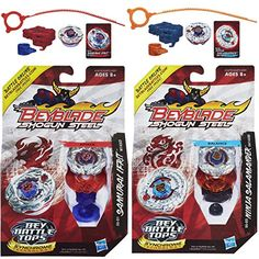 Battling Top Toys - Beyblade Shogun Steel Samurai Ifrit W145CF SS01 Top  Ninja Salamander SW145SD SS02 N Top Bundle *** Visit the image link more details.