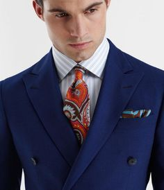 Phineas Cole S/S 2012 Men, fashion, clothes, style Pocket Square Styles, Tie And Pocket Square, Pocket Squares, Sharp Dressed Man, Well Dressed Men, Pliage Pochette Costume, Mens Style Guide, Gentleman Style, Men Looks