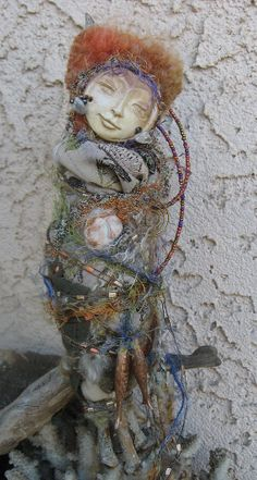 Moon Dreamer Spiral Goddess   Bohemian Spirit Art by awesomeart, $85.00