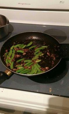 Seasoned Pea Pods