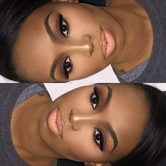 #houstonmua #houstonmakeupartist #makeup #brownsmokeyeye #highlightandcontour #mac #nyxmattelipstick