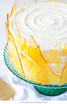 Crème Brûlée Cake