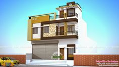 House with shop house map, house elevation, ground floor, photo wall, exter 2 Storey House Design, Duplex House Design, House Front Design, Cool House Designs, Modern House Design, Shop House Plans, House Floor Plans, Philippines, Philippine Houses