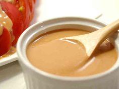 オーロラソースでサウザンアイランド風の画像 Peanut Butter, Beverages, Spices, Pudding, Cheese, Ethnic Recipes, Desserts, Foods, Food Food